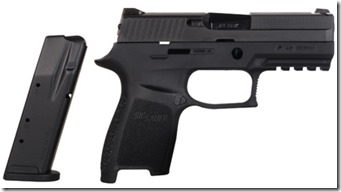 Sig Sauer P250 Compact 40 S&W with 13-Round Magazine